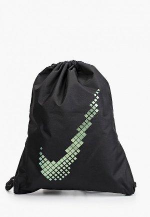 Мешок Nike Y NK GMSK - GFX SU21. Цвет: черный