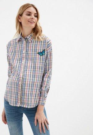 Рубашка Olesya Zubova. Цвет: разноцветный