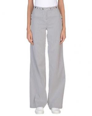 Повседневные брюки BABYLON. Цвет: серый