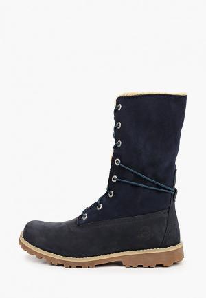 Ботинки Timberland AUTHENTIC Roll-Top Boot. Цвет: синий
