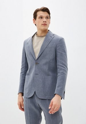 Пиджак Corneliani. Цвет: голубой