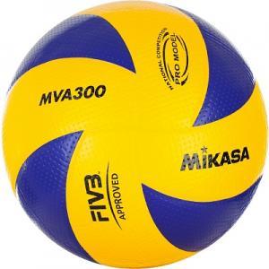 Мяч волейбольный MIKASA. Цвет: синий