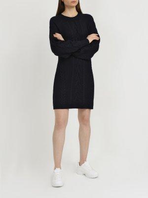 Вязаное платье Polo Ralph Lauren. Цвет: temno_siniy