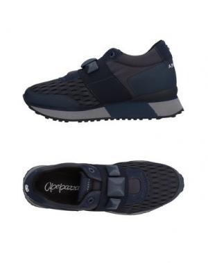 Низкие кеды и кроссовки APEPAZZA. Цвет: темно-синий