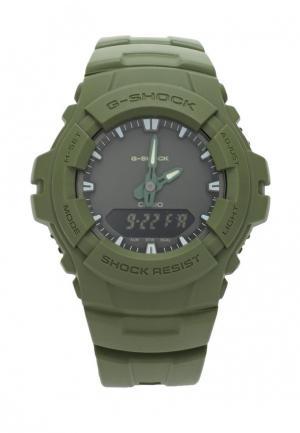 Часы Casio G-SHOCK G-100CU-3A. Цвет: хаки