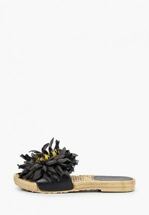 Сабо Exquily. Цвет: черный