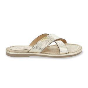 Туфли без задника Boite LES TROPEZIENNES PAR M BELARBI. Цвет: золотистый