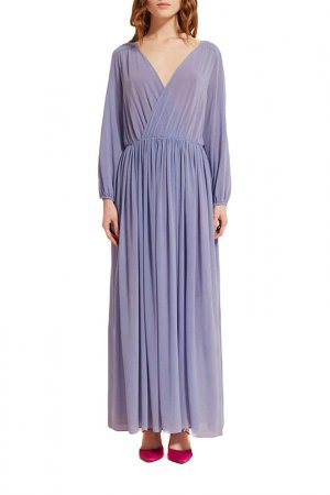 Платье SEMICOUTURE. Цвет: сиреневый