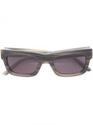 Солнцезащитные очки type 03 Sun Buddies. Цвет: зелёный