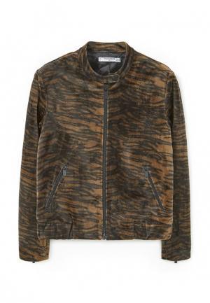 Куртка Mango - AGUSTINA. Цвет: коричневый