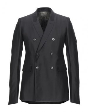 Пиджак RICK OWENS. Цвет: черный