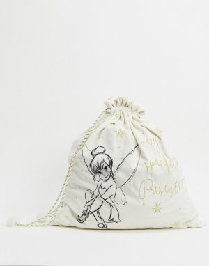 Мешок для подарков с феей Динь-динь Christmas-Белый Disney