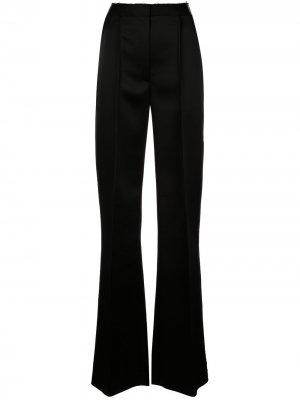 Строгие брюки широкого кроя Carolina Herrera. Цвет: черный