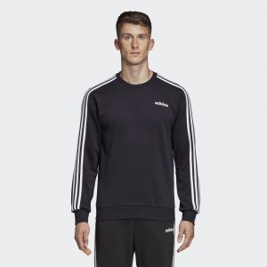 Джемпер Essentials 3-Stripes Sport Inspired adidas. Цвет: черный