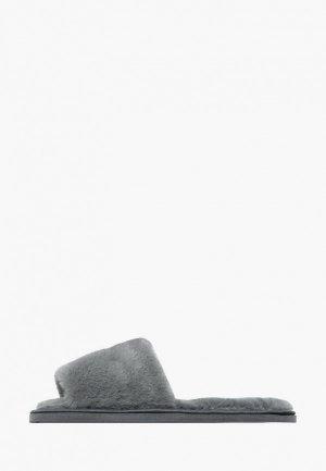 Тапочки Amaro Home. Цвет: серый