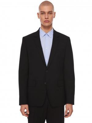 Костюмный пиджак KENZO. Цвет: черный