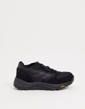 Черные кроссовки на толстой подошве BW Infinity-Черный Hi-Tec