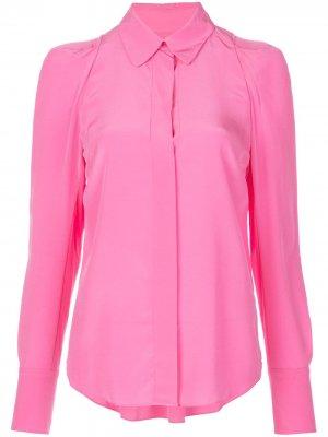Рубашка узкого кроя A.L.C.. Цвет: розовый