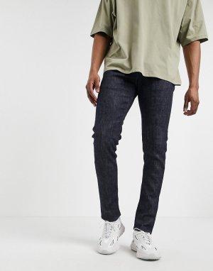 Темные зауженные джинсы ED 85-Голубой Edwin