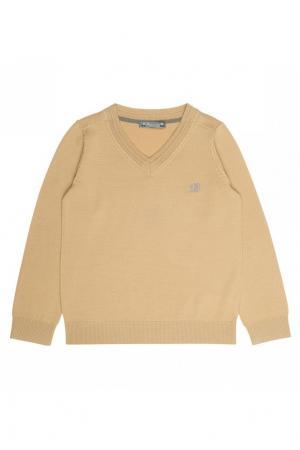Пуловер желтый шерстяной Bonpoint. Цвет: желтый