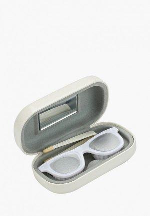 Набор Balvi для контактных линз O Sole. Цвет: белый