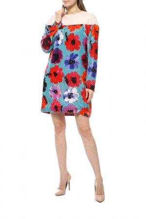 Платье GIULIA ROSITANI. Цвет: бежевый