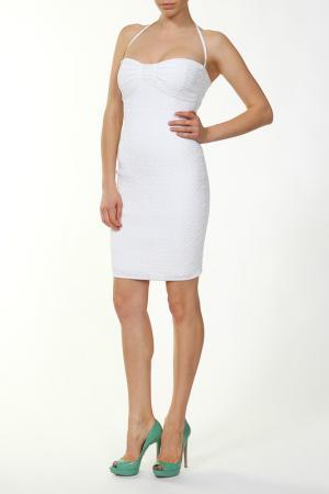 Платье Herve L.Leroux. Цвет: белый