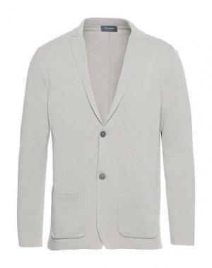 Пиджак DRUMOHR. Цвет: светло-серый