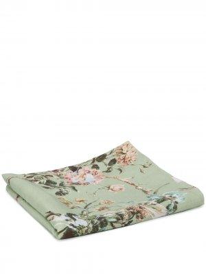 Скатерть с цветочным принтом Preen By Thornton Bregazzi. Цвет: зеленый