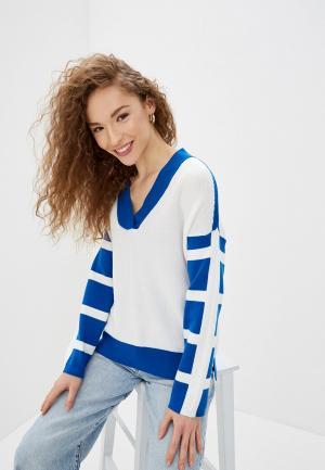Пуловер United Colors of Benetton. Цвет: белый