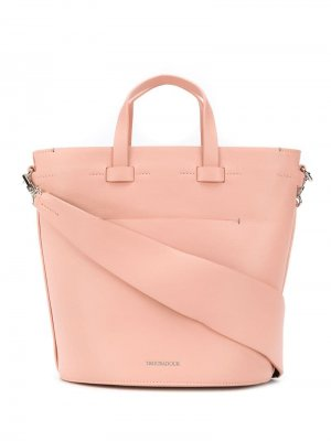 Овальная сумка Contour Troubadour. Цвет: розовый