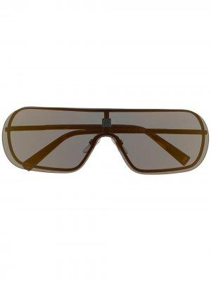 Солнцезащитные очки Eclipse Givenchy Eyewear. Цвет: черный