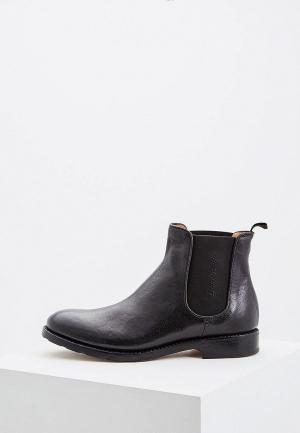 Ботинки Barracuda BA056AMCATO2. Цвет: черный