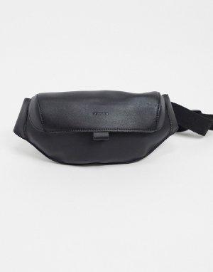 Сумка-кошелек на пояс -Черный цвет Fenton