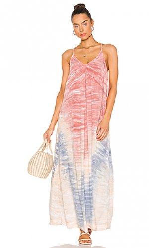 Макси платье haze Michael Stars. Цвет: розовый
