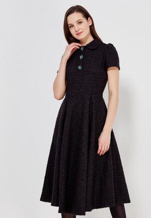 Платье Adore Atelier. Цвет: черный
