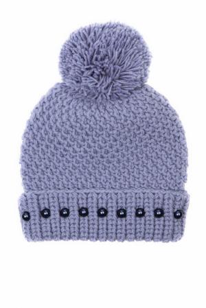 Шерстяная шапка 7II. Цвет: фиолетовый