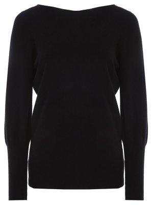 Пуловер кашемировый Gran Sasso. Цвет: черный
