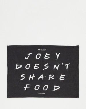 Кухонное полотенце с принтом Joey Doesnt Share Typo x Friends-Многоцветный
