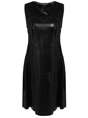 Платье кожаное JIL SANDER