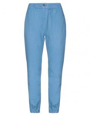 Повседневные брюки EAN 13. Цвет: лазурный