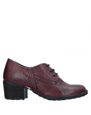 Обувь на шнурках KHRIO'. Цвет: пурпурный