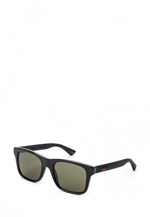Очки солнцезащитные Gucci GG0008S 001. Цвет: черный