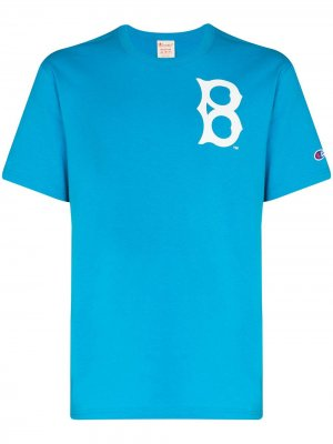 Футболка из коллаборации с Red Sox™ Champion. Цвет: синий