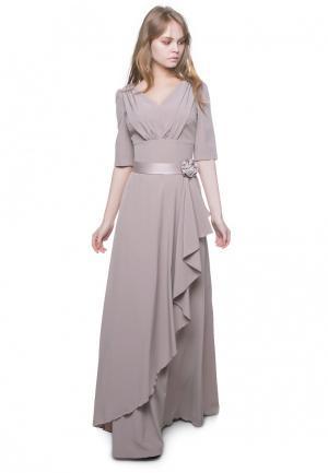 Платье Marichuell MURATTY. Цвет: бежевый
