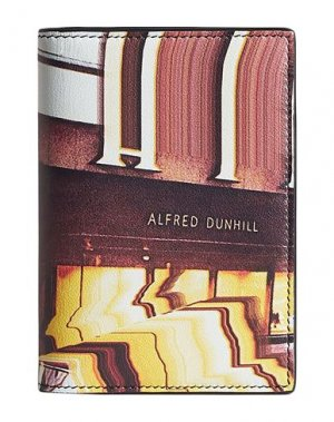 Бумажник DUNHILL. Цвет: кирпично-красный