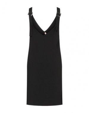 Платье до колена FLY GIRL. Цвет: черный