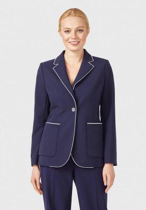 Пиджак Pompa. Цвет: синий