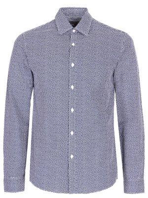 Рубашка regular fit хлопковая MICHAEL KORS. Цвет: разноцветный