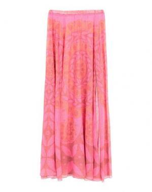 Длинная юбка AGOGOA. Цвет: фуксия